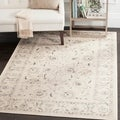 Safavieh Vintage Oriental Light Grey/ Ivory Distressed Rug (6'7 x 9'2)