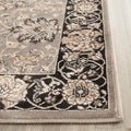 Safavieh Persian Garden Grey/ Black Viscose Rug (2'2 x 8')