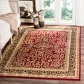 Safavieh Lyndhurst Traditional Oriental Red/ Black Rug (11' x 15')