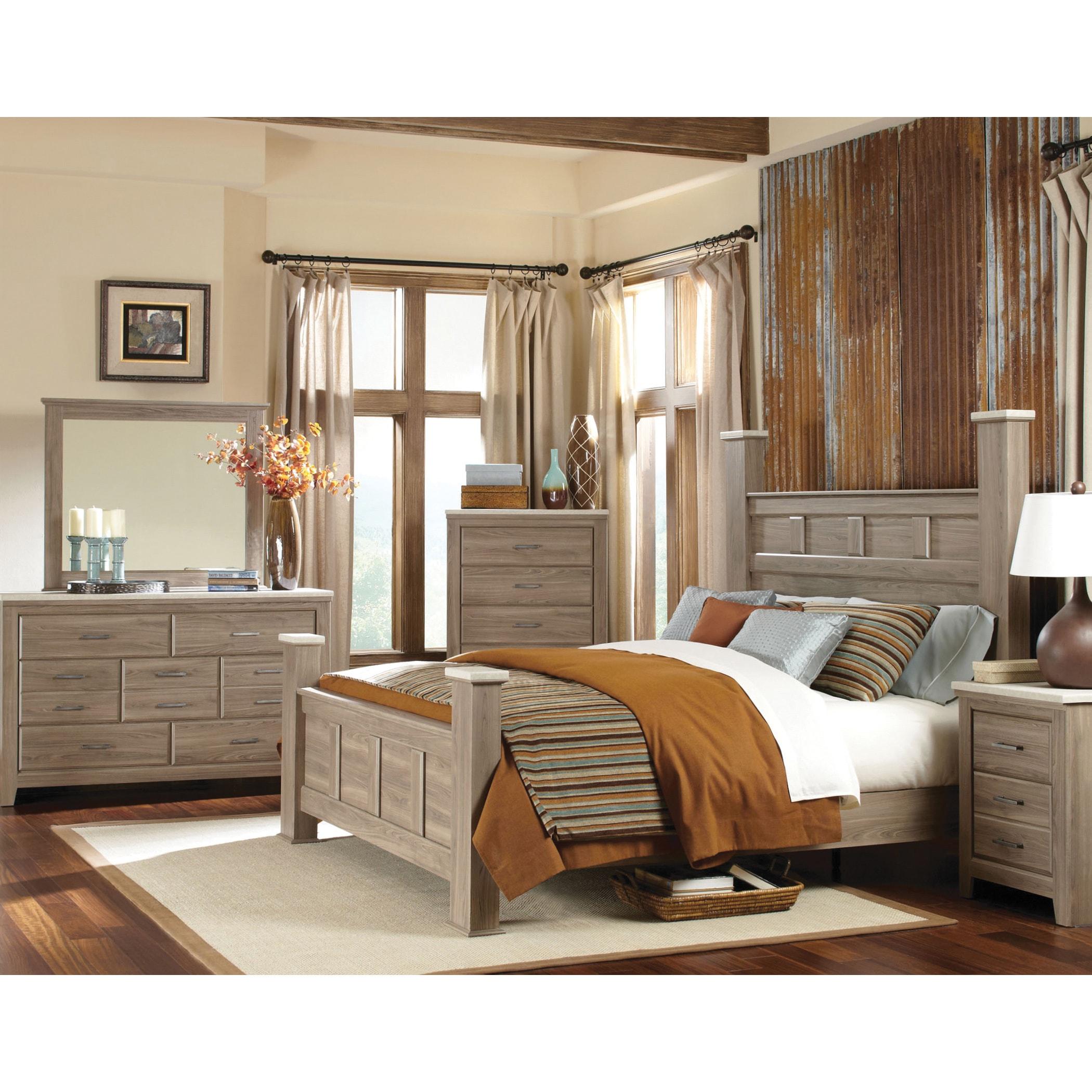Shop Art Van 6-piece Queen Bedroom Set - Free Shipping Today ...