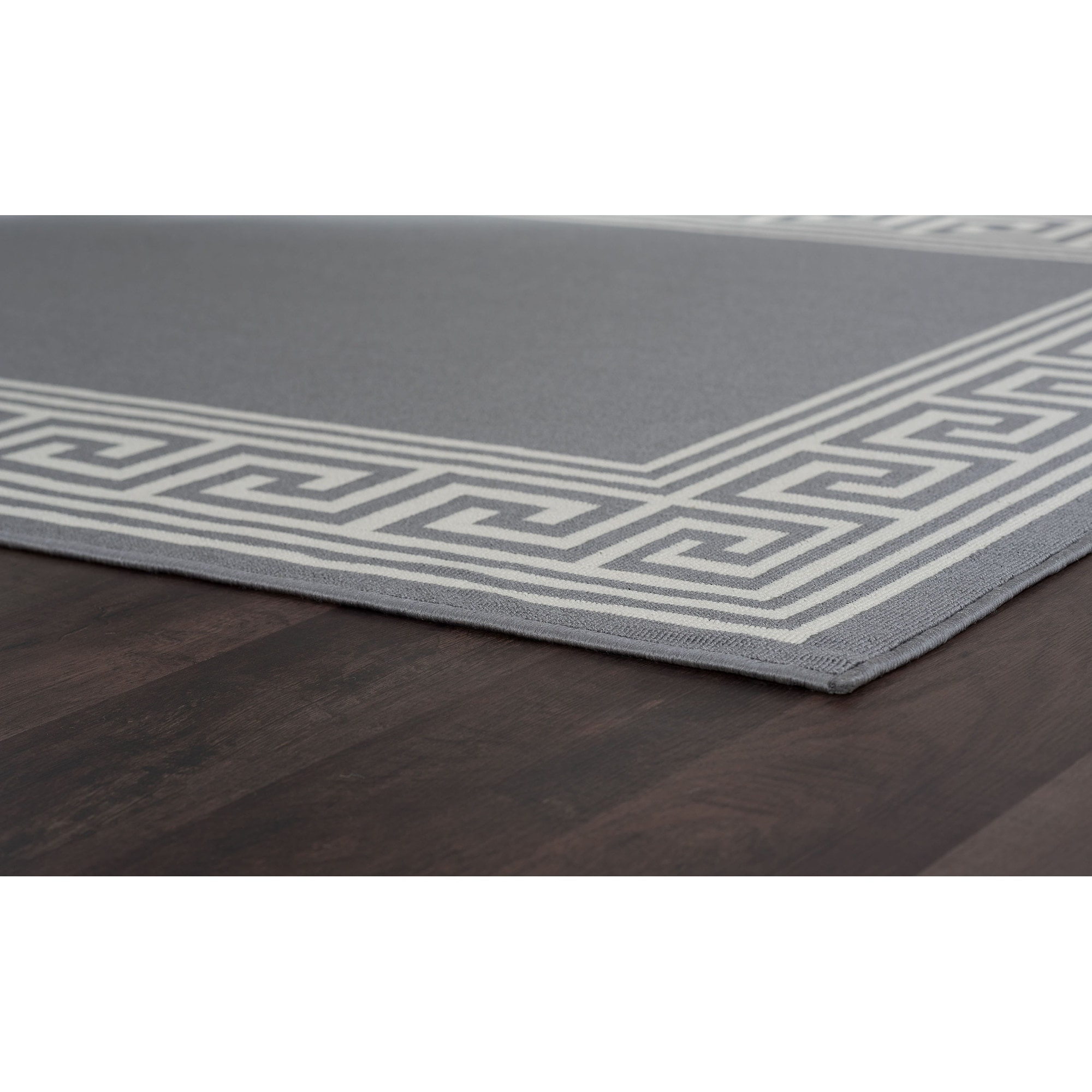 Alise Rugs Garden Town Transitional Greek Key Area Rug 5 3 X 7 On Free Shipping Today Com 9951566