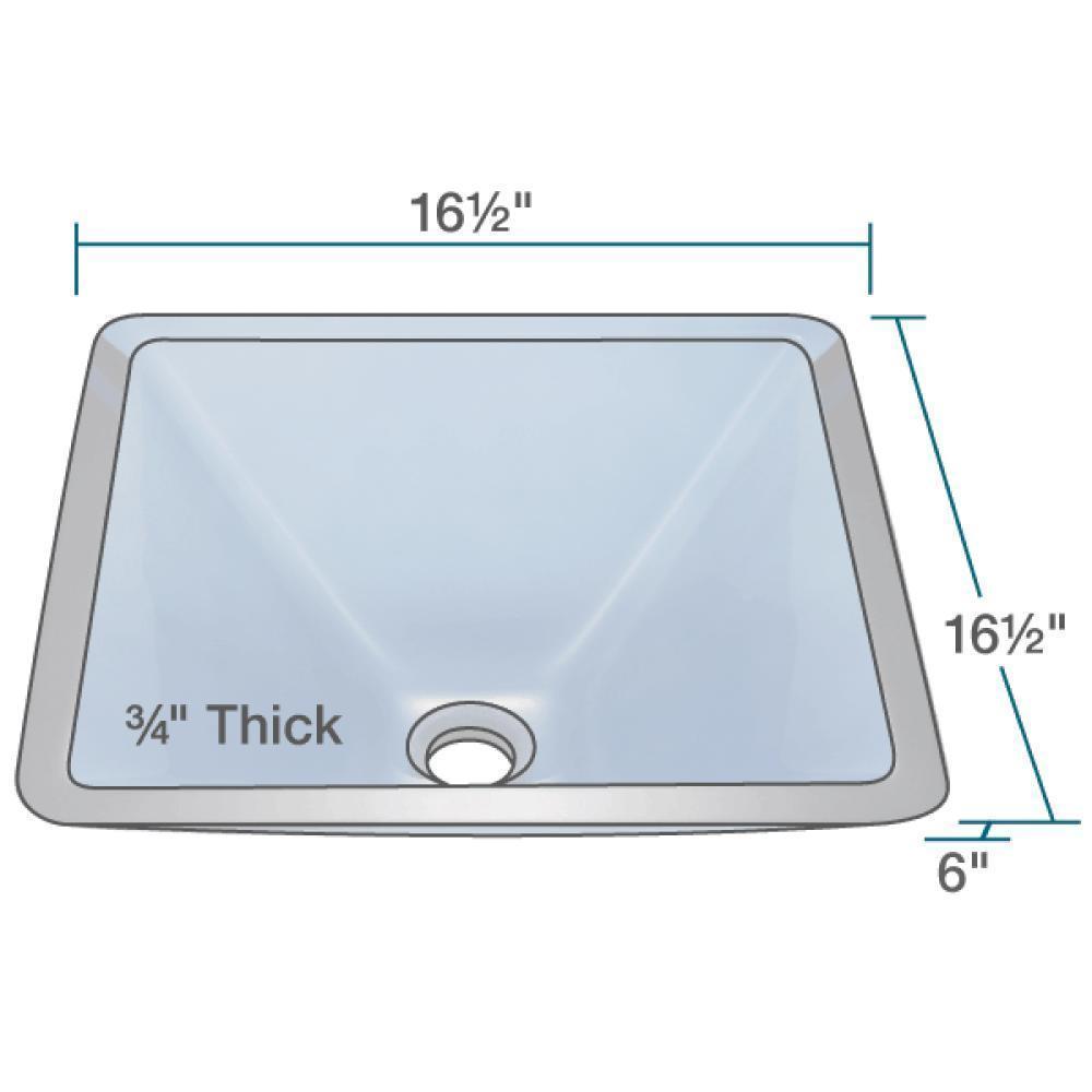 603 Aqua Colored Glass Vessel Sink, with Oil-Rubbed Bronze Vessel ...