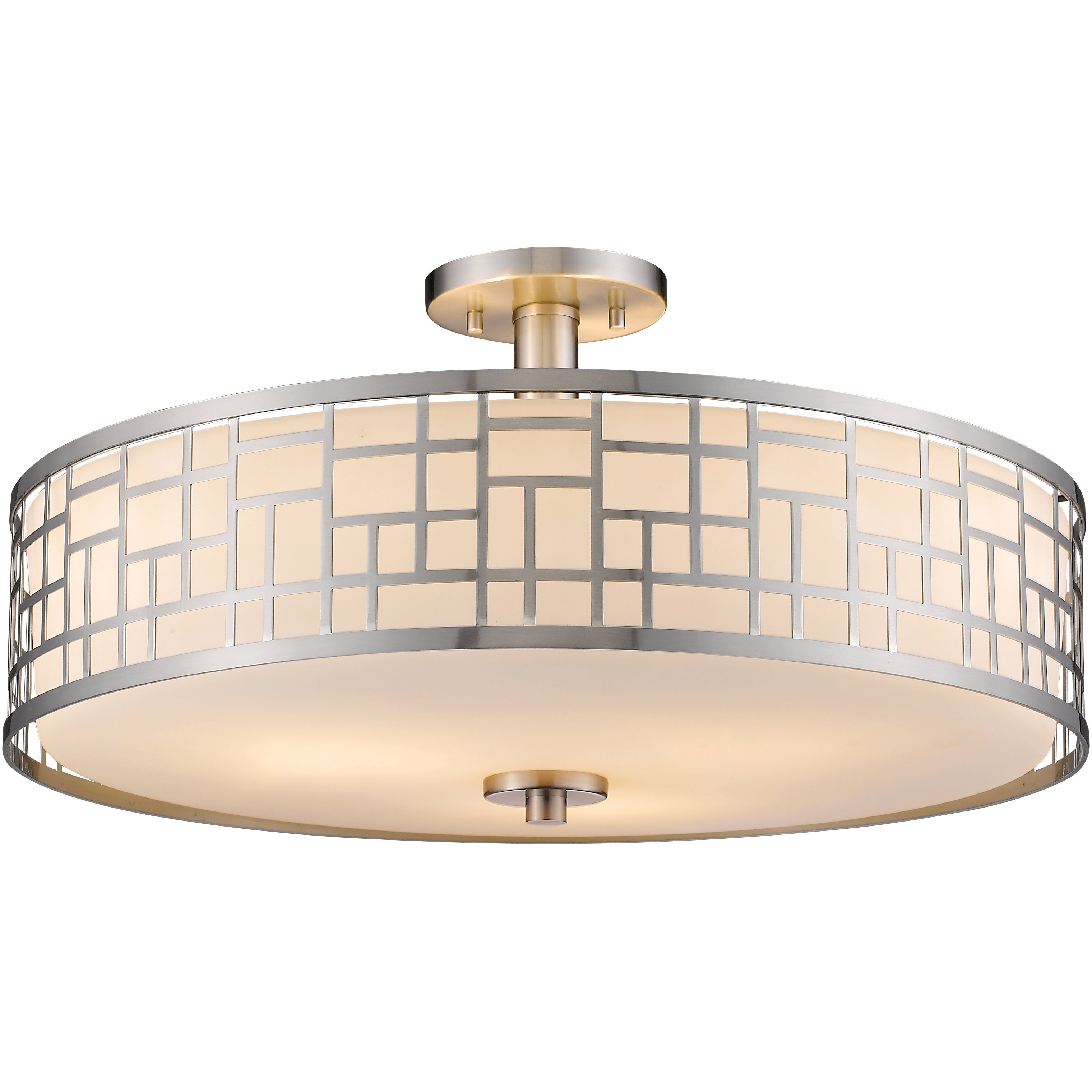and mount semi with lighting ceilings extraordinary brushed ceiling glamorous furniture design fixtures flush nickel light cheap