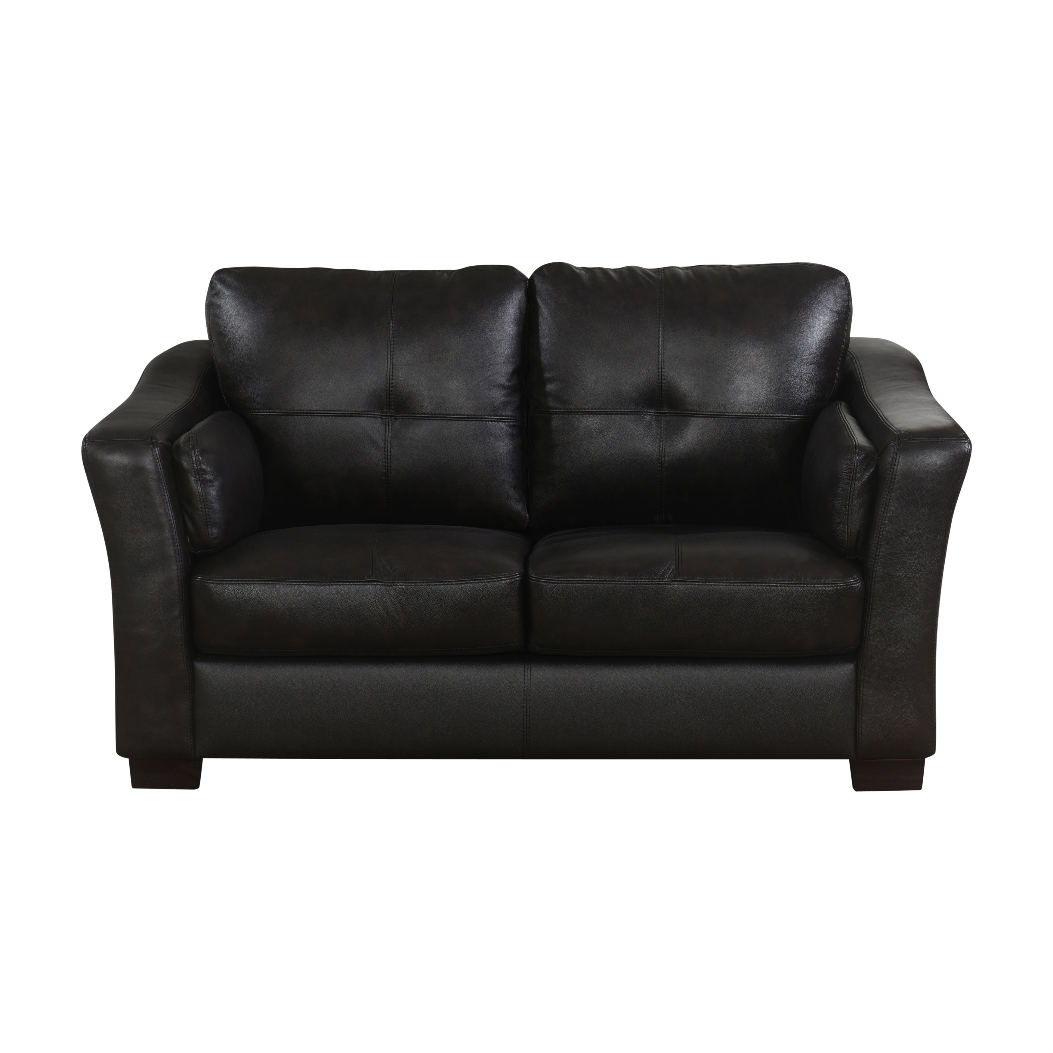 Abbyson Torrance Top Grain Dark Brown Leather Sofa And Loveseat On Free Shipping Today 9966862