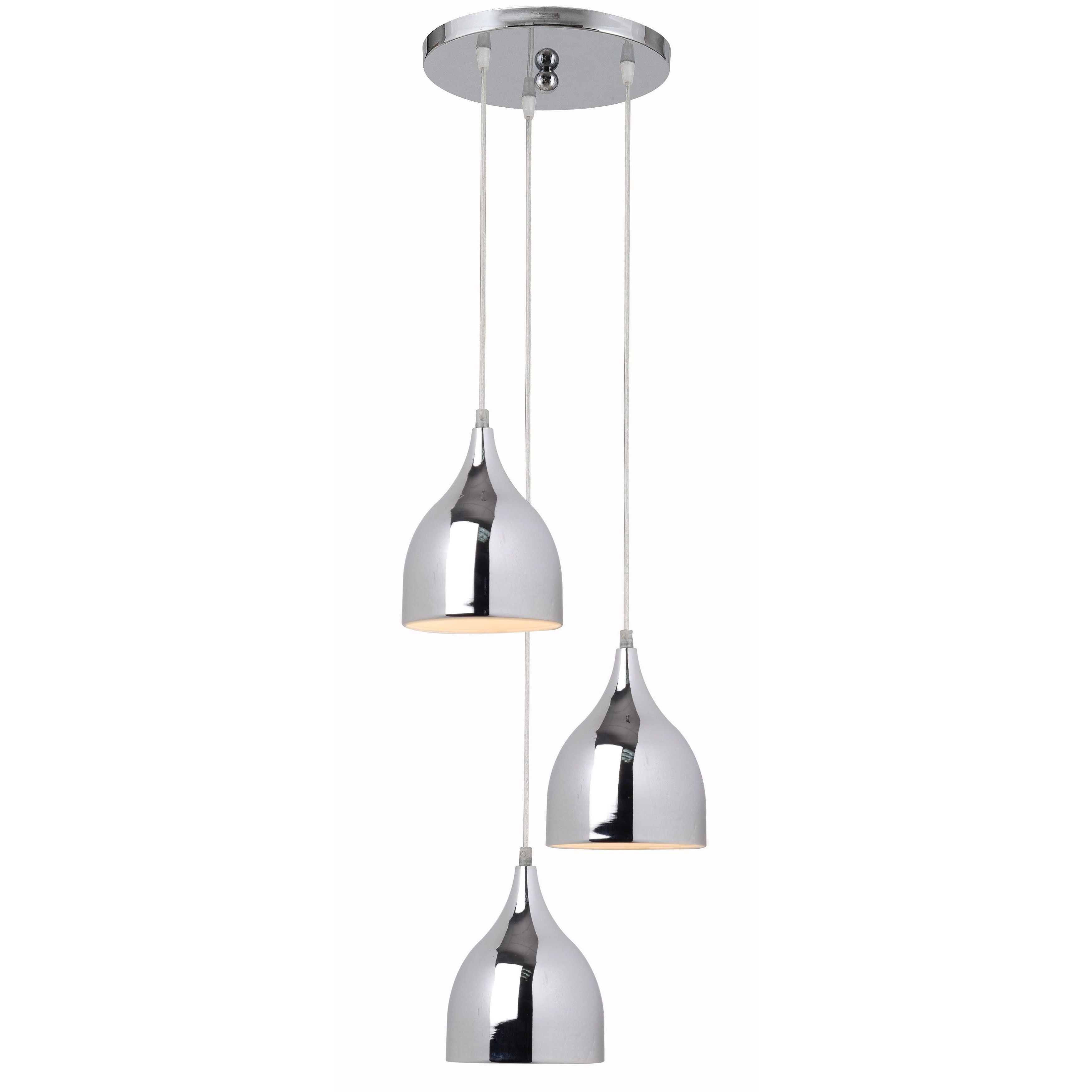 Mini Three-light Pendant Canopy - Free Shipping On Orders Over $45 - Overstock.com - 17122911  sc 1 st  Overstock.com & Mini Three-light Pendant Canopy - Free Shipping On Orders Over $45 ...