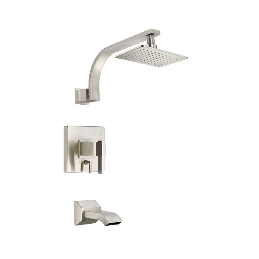 Shop Danze Sirius Tub and D510044BNT Brushed Nickel Shower Faucet ...