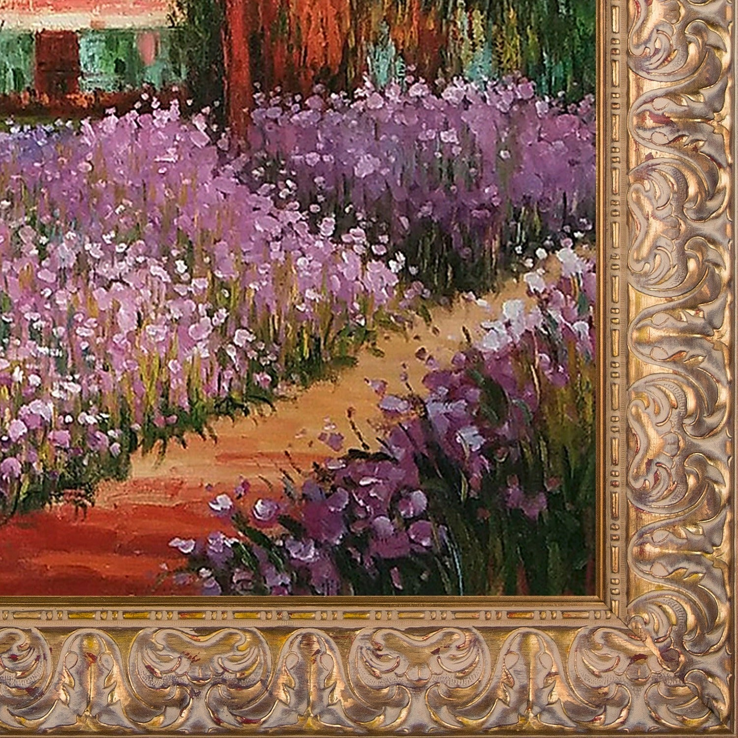 Shop Claude Monet \'Artists Garden at Giverny\' Hand Painted Oil ...