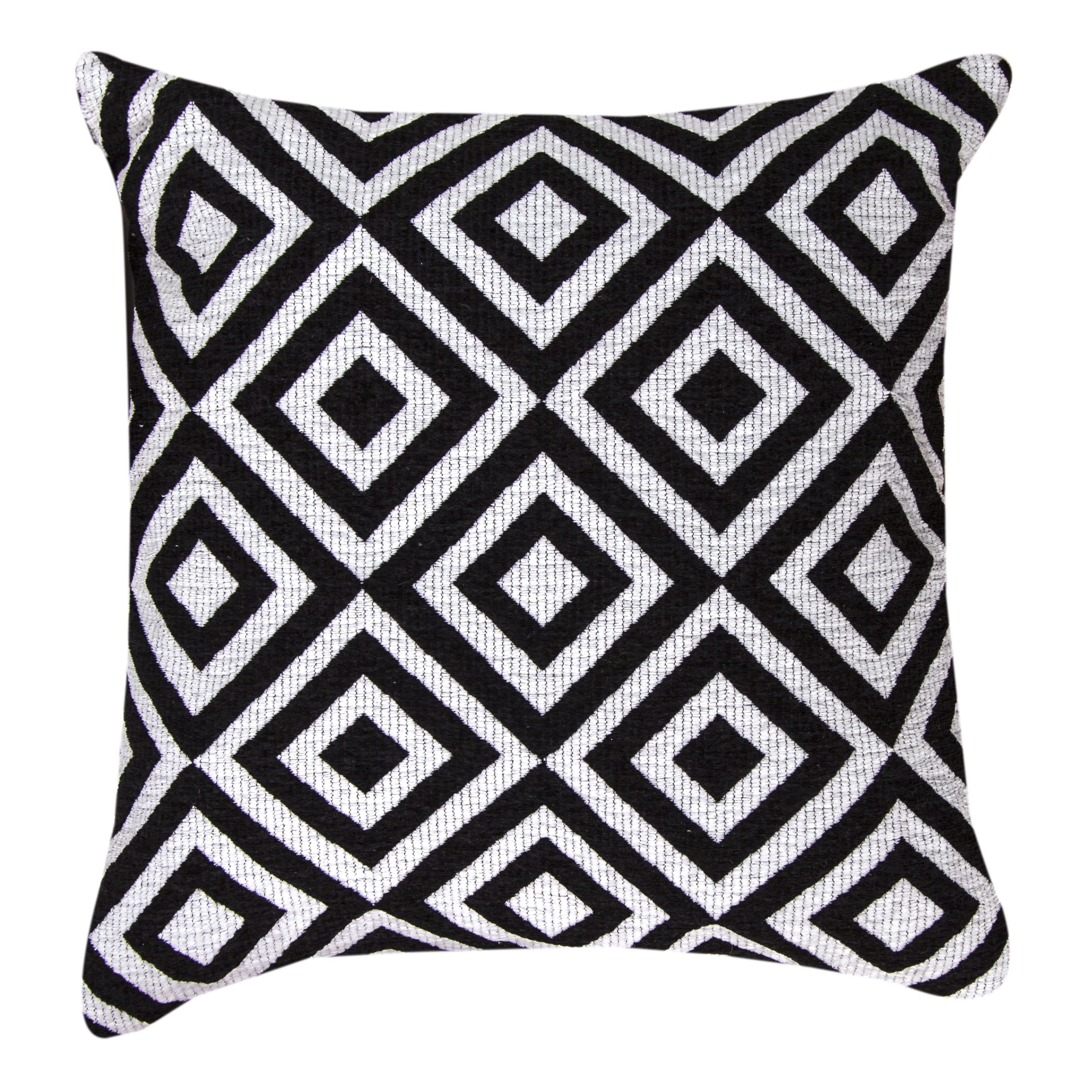 Black and White Diamond Throw Pillows - Free Shipping Today ...