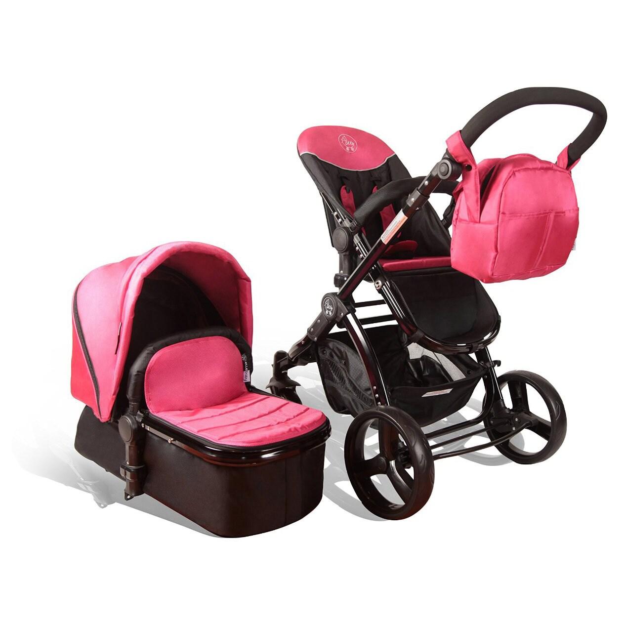 Babyelle Fold Up Infant Seat With Melodies And Soothing Vibrations - Baby Elle Kursi Lipat Bayi