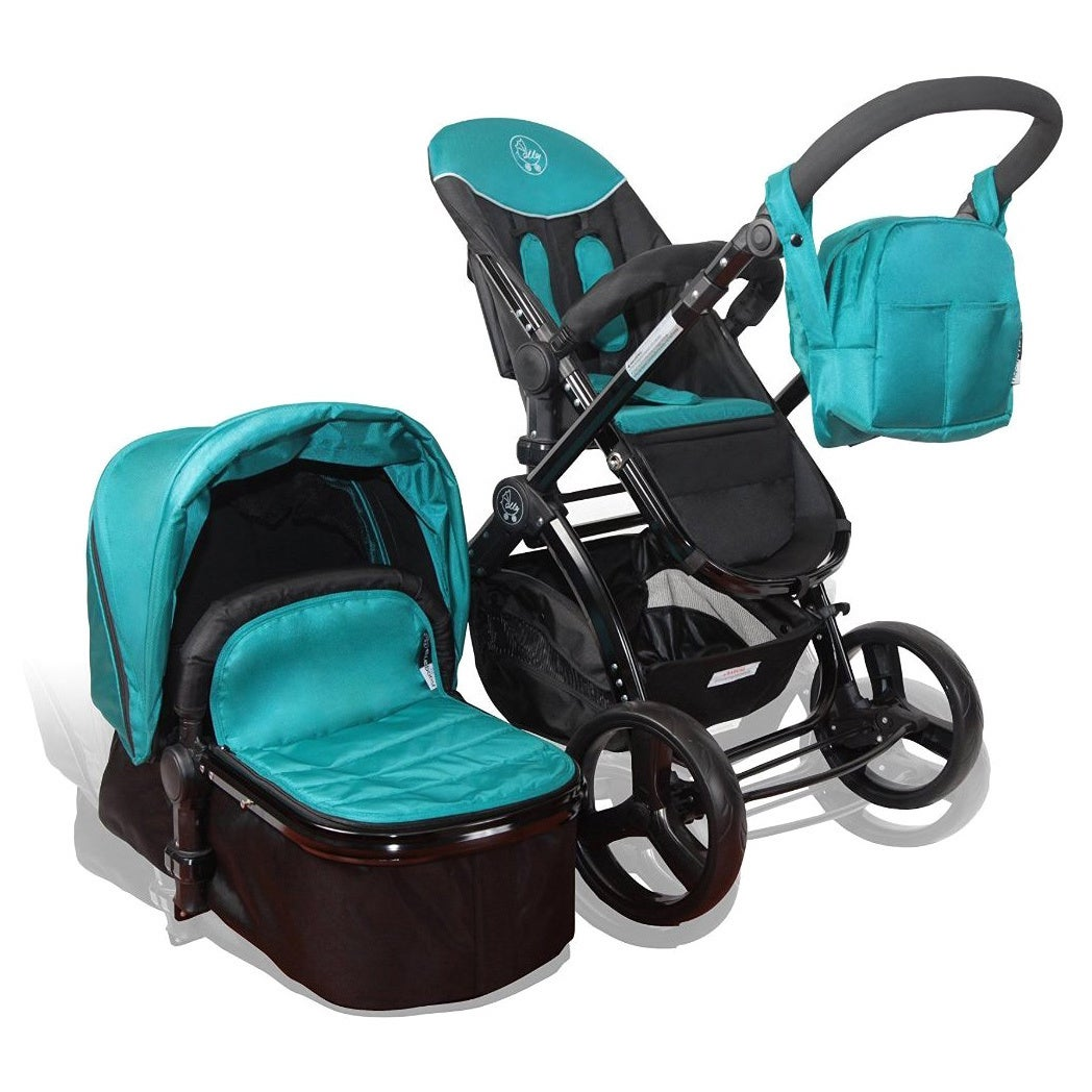 Shop Elle Baby Deluxe Travel System - Free Shipping Today - Overstock.com - 9976702