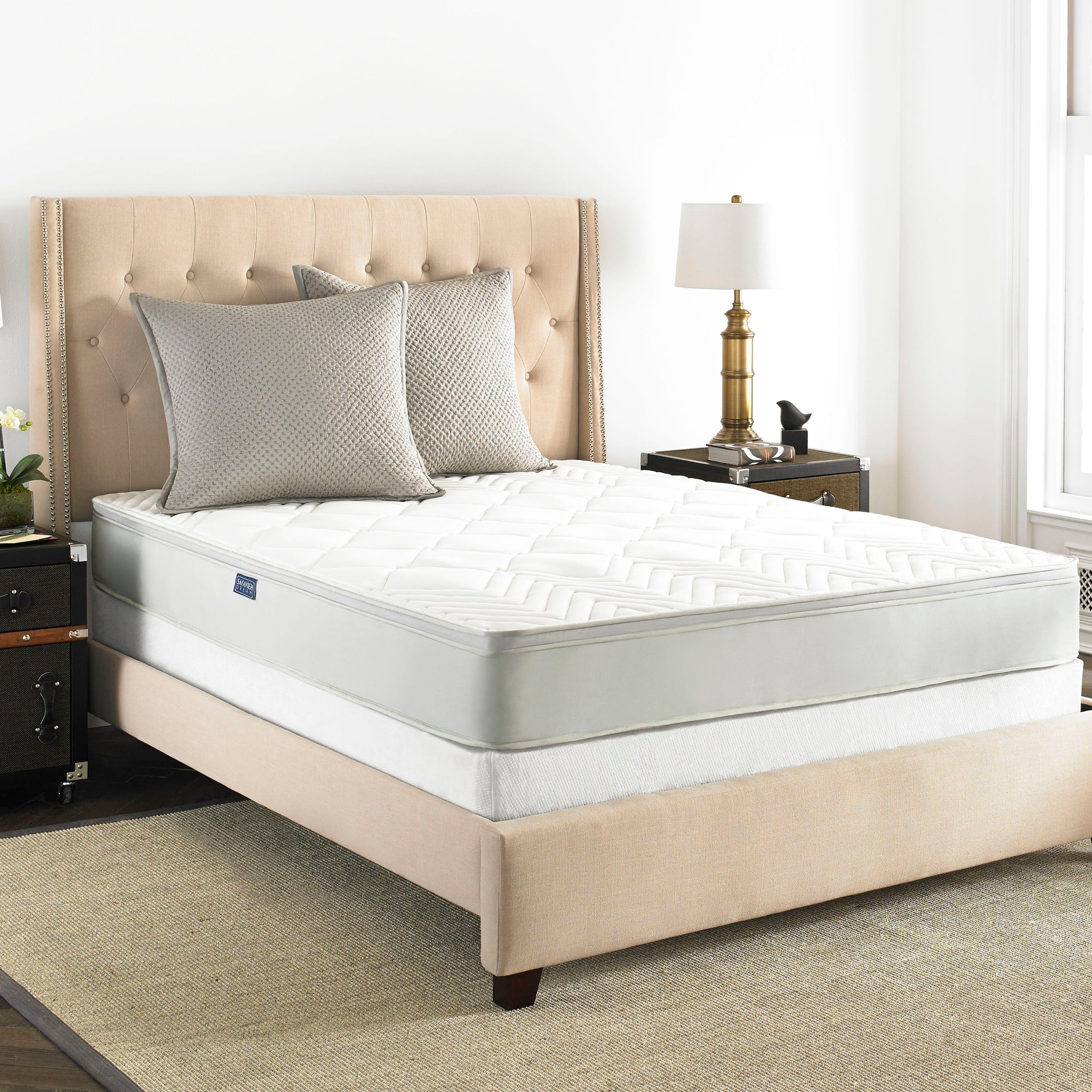 pillow furniture spring mattress size jsp store rcwilley top view willey rc inc full box and mattresses sleep richmond