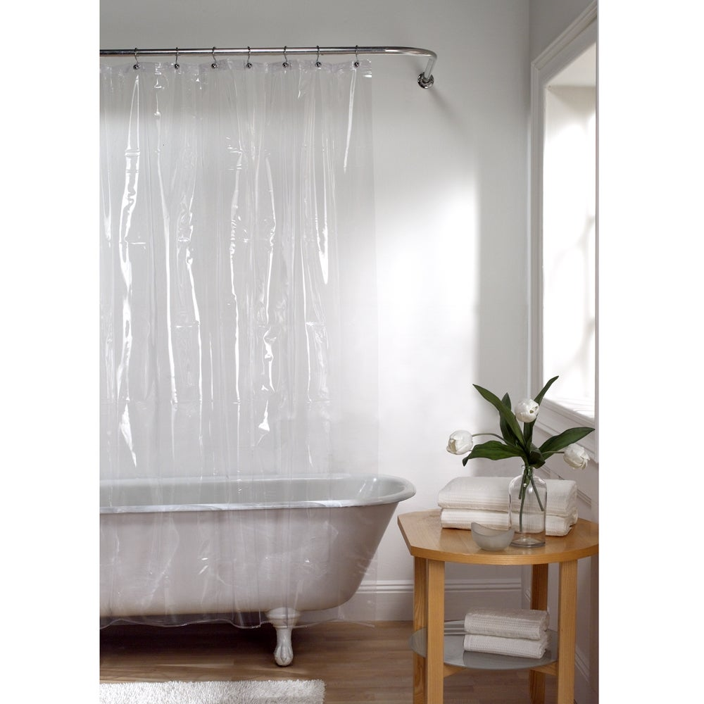 Maytex Super Heavyweight Vinyl Shower Curtain or Liner - Free ...