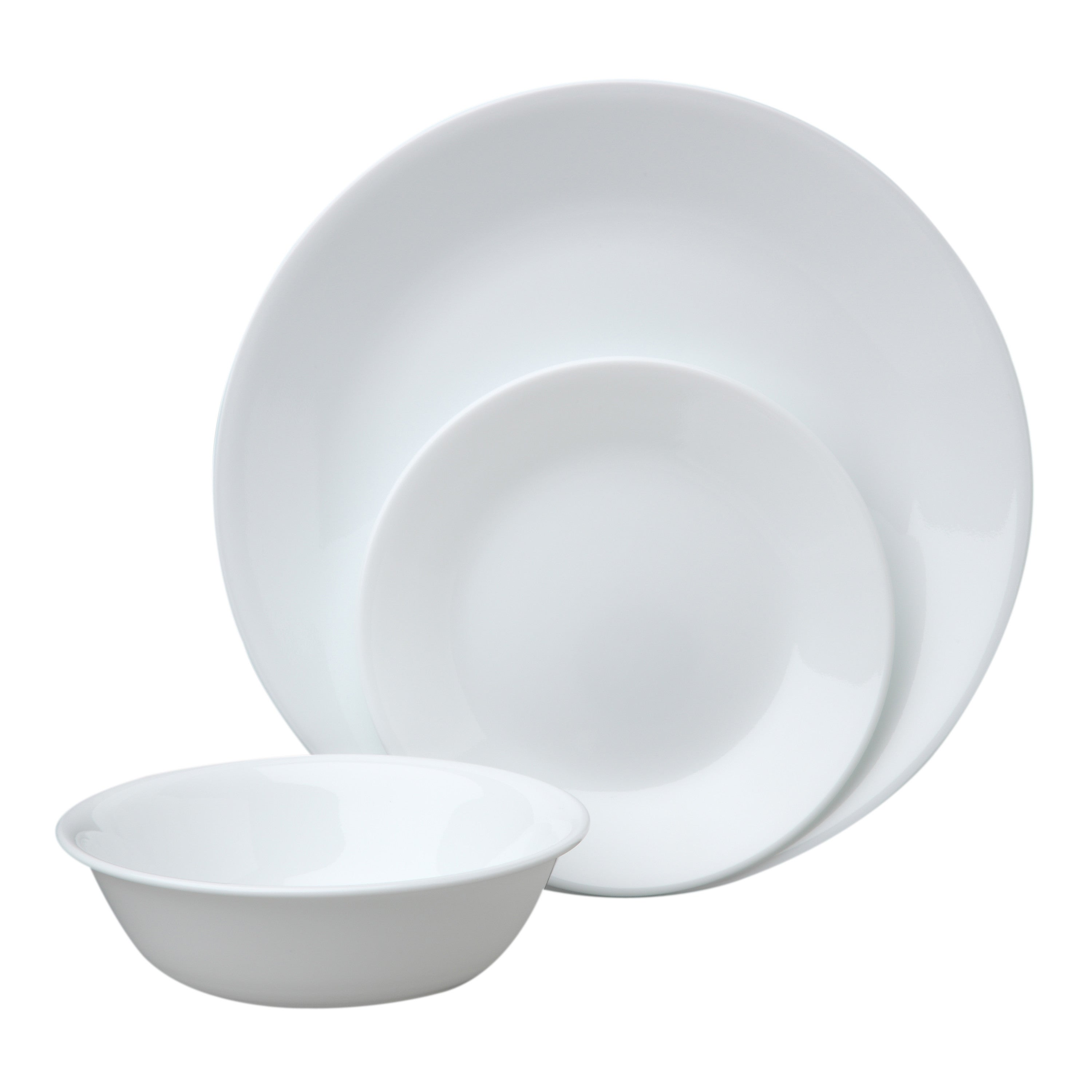 Shop Corelle Livingware 18-piece Dinnerware Set (Service for 6) - Free Shipping Today - Overstock.com - 9977354  sc 1 st  Overstock & Shop Corelle Livingware 18-piece Dinnerware Set (Service for 6 ...