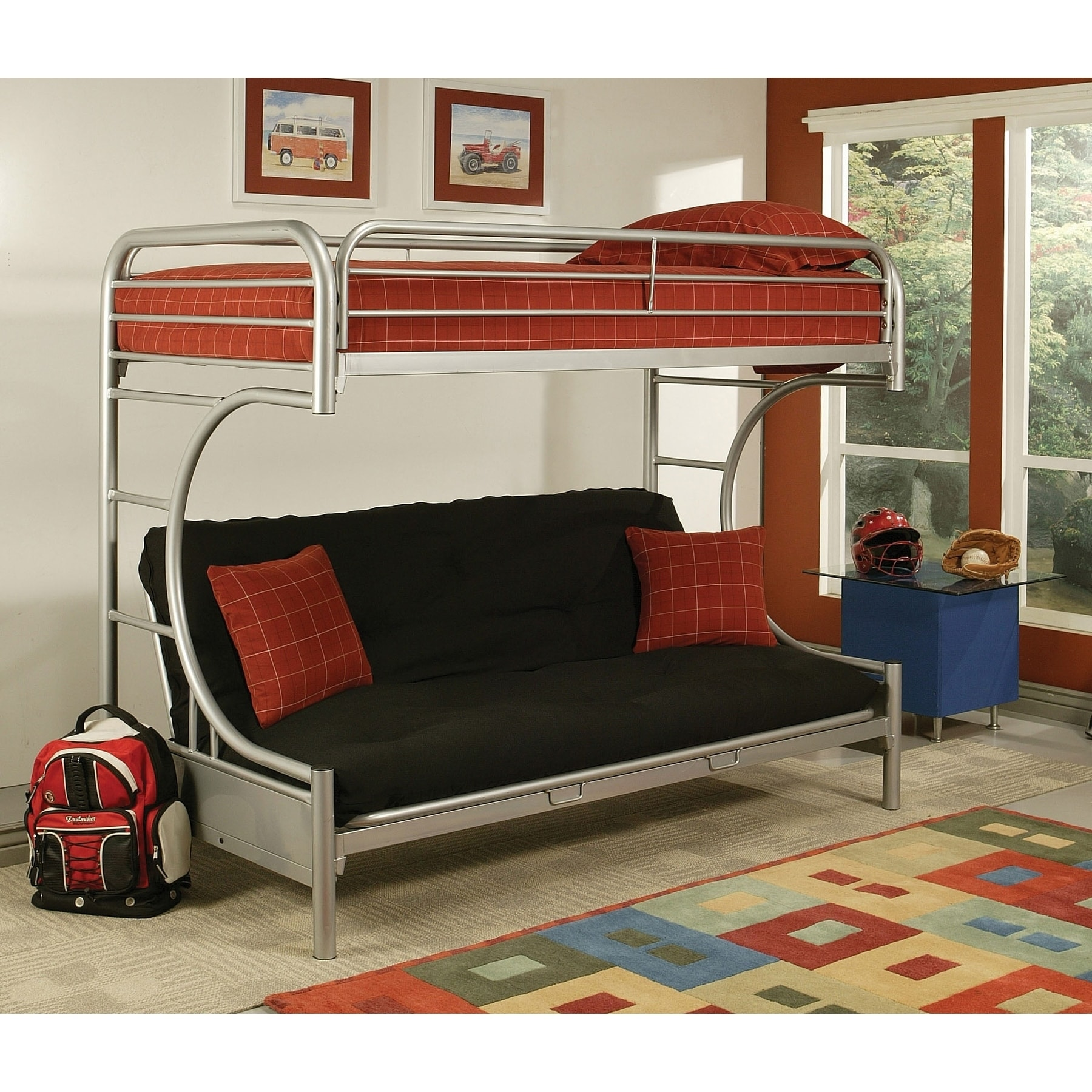eclipse twin full futon bunk bed   free shipping today   overstock     17131332 eclipse twin full futon bunk bed   free shipping today   overstock      rh   overstock