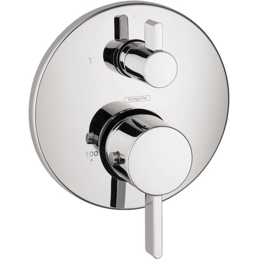 Shop Hansgrohe Ecostat S Thermostatic Trim with Volume Control ...