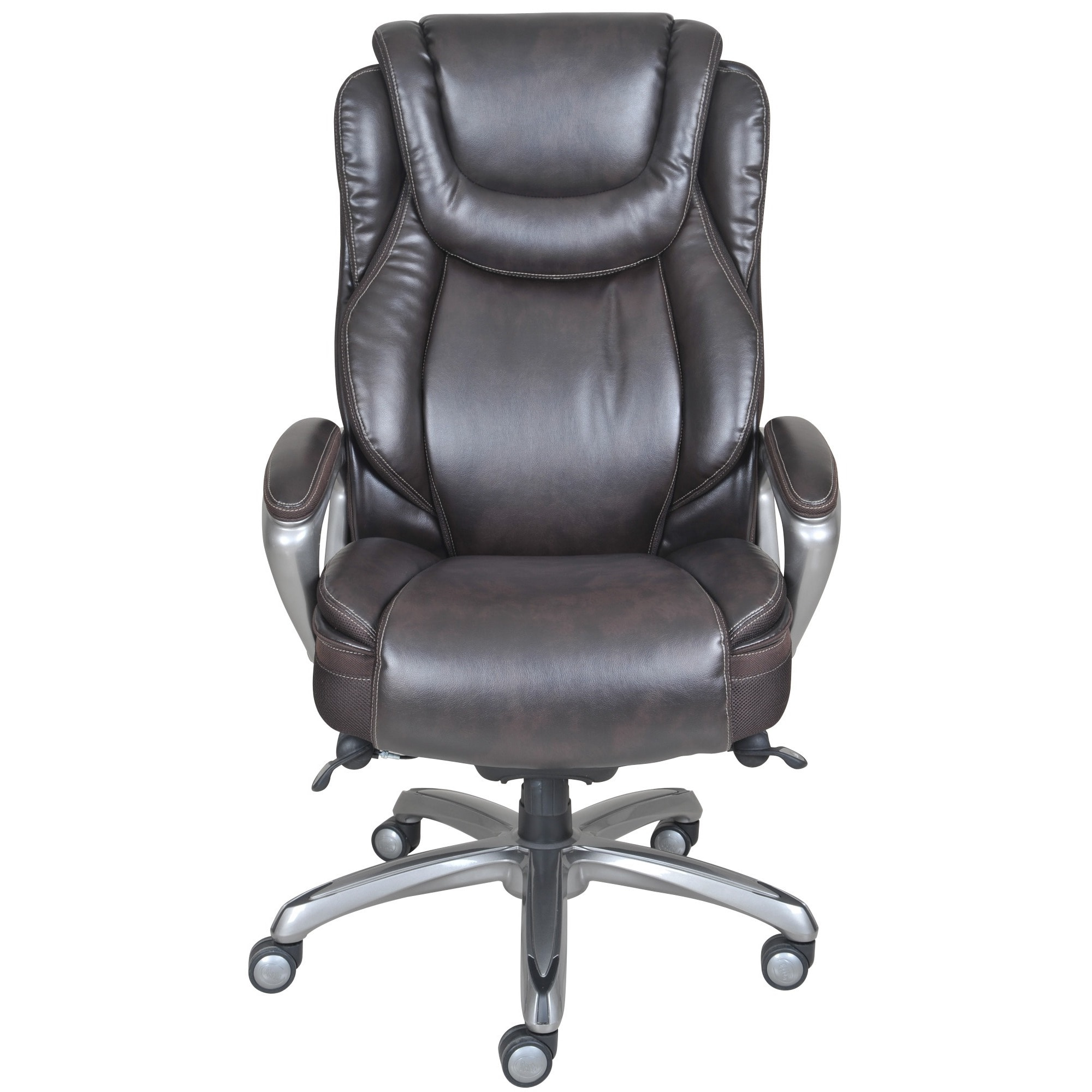 Bon Shop Serta Big U0026 Tall Harmony Smart Layers Executive Office Chair   Free  Shipping Today   Overstock.com   9984763