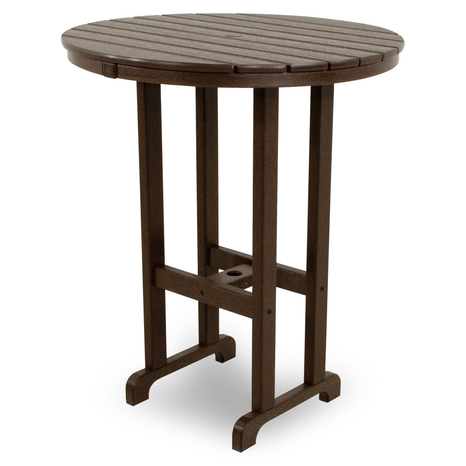 Ivy Terrace Clics Round 36 Bar Table Free Shipping Today 9985282