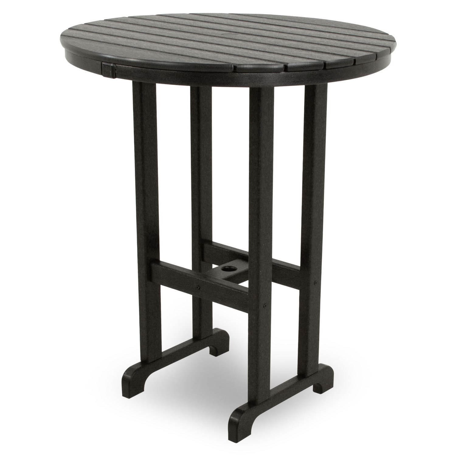 Ivy Terrace Clics Round 36 Inch Bar Table Free Shipping Today 9985282