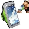 Insten Green Universal Sport Armband For Apple iPhone 6/ 6+/ Samsung Galaxy Note 3/ 4/ Edge/ Mega 2/ ZTE Zmax/ Grand x Max