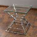 Christopher Knight Home Pagoda Stainless Steel End Table