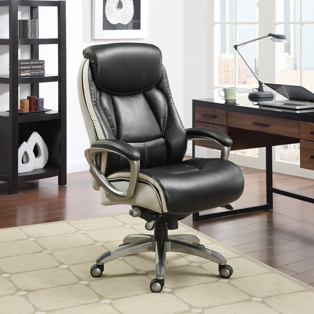 shop serta smart layers executive office chair - on sale - free