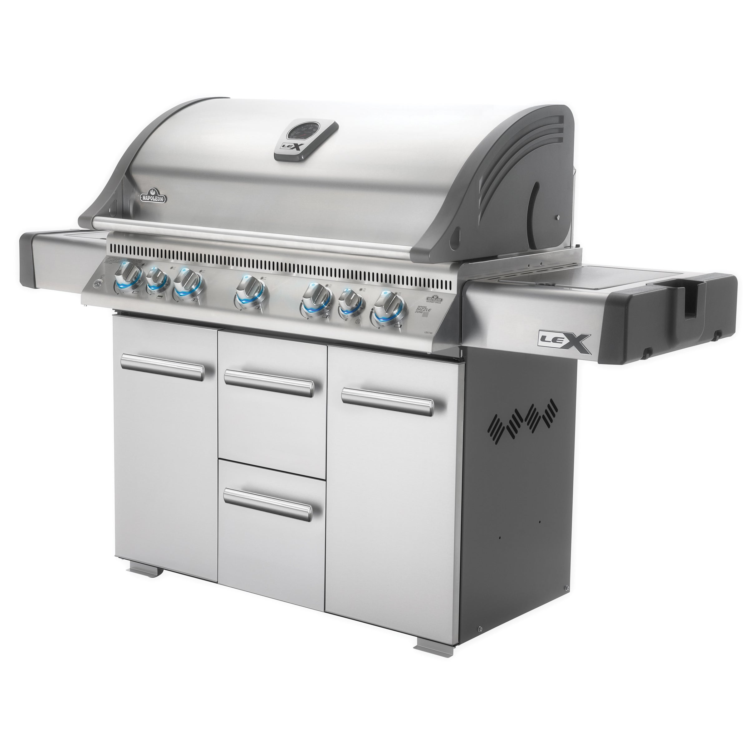 Napoleon LEX730RSBIPSS 7-burner Propane Gas Grill - Free Shipping ...