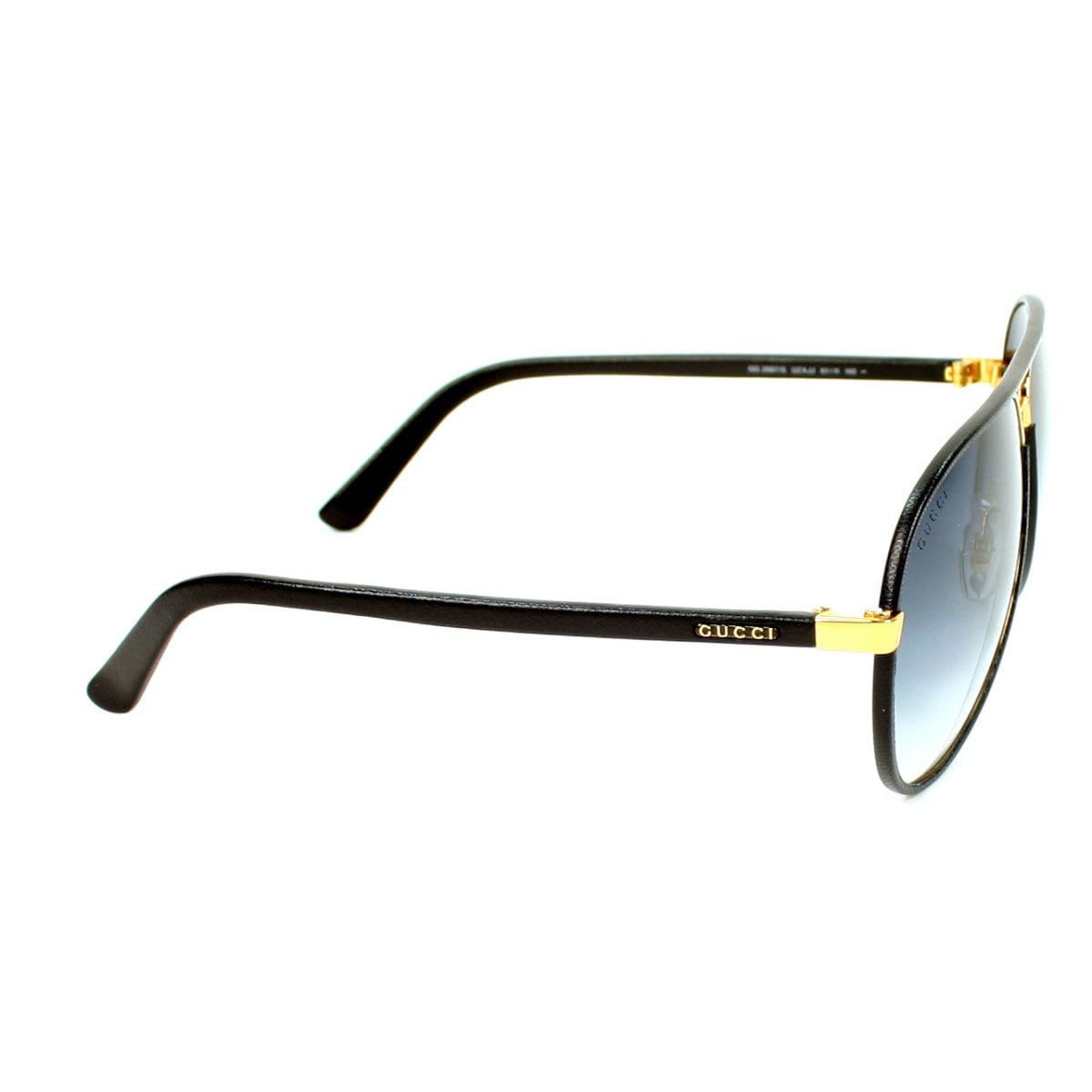 d2475f73d30 Shop Gucci Men s GG 2887 S Metal Aviator Sunglasses - Black - Ships To  Canada - Overstock - 9997431