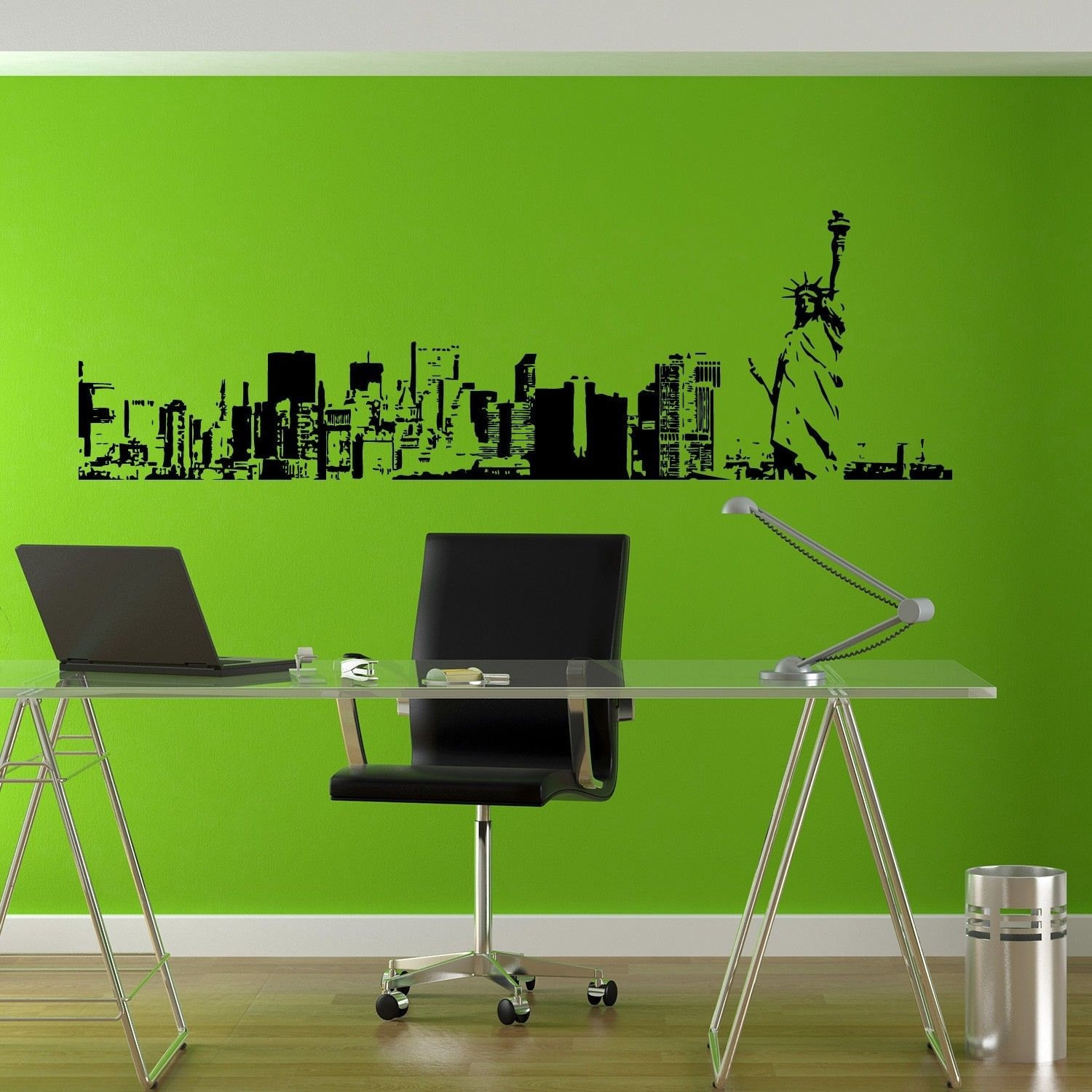 Shop New York City Skyline Sticker Vinyl Wall Art Free Shipping On