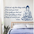 Buddha Quote Sticker Vinyl Wall Art