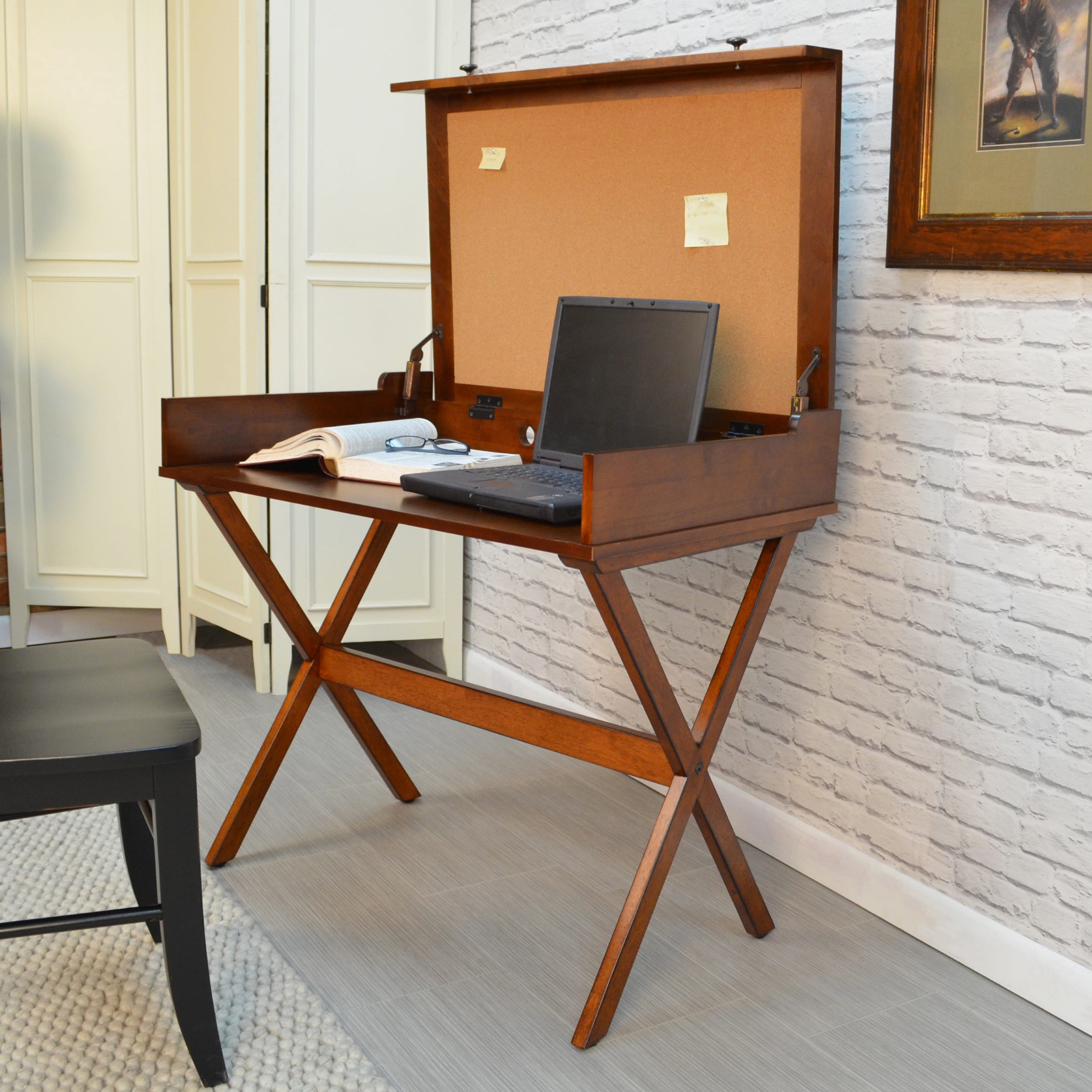flip top desk. Shop Alice Flip Top Desk - On Sale Free Shipping Today Overstock.com 9998854