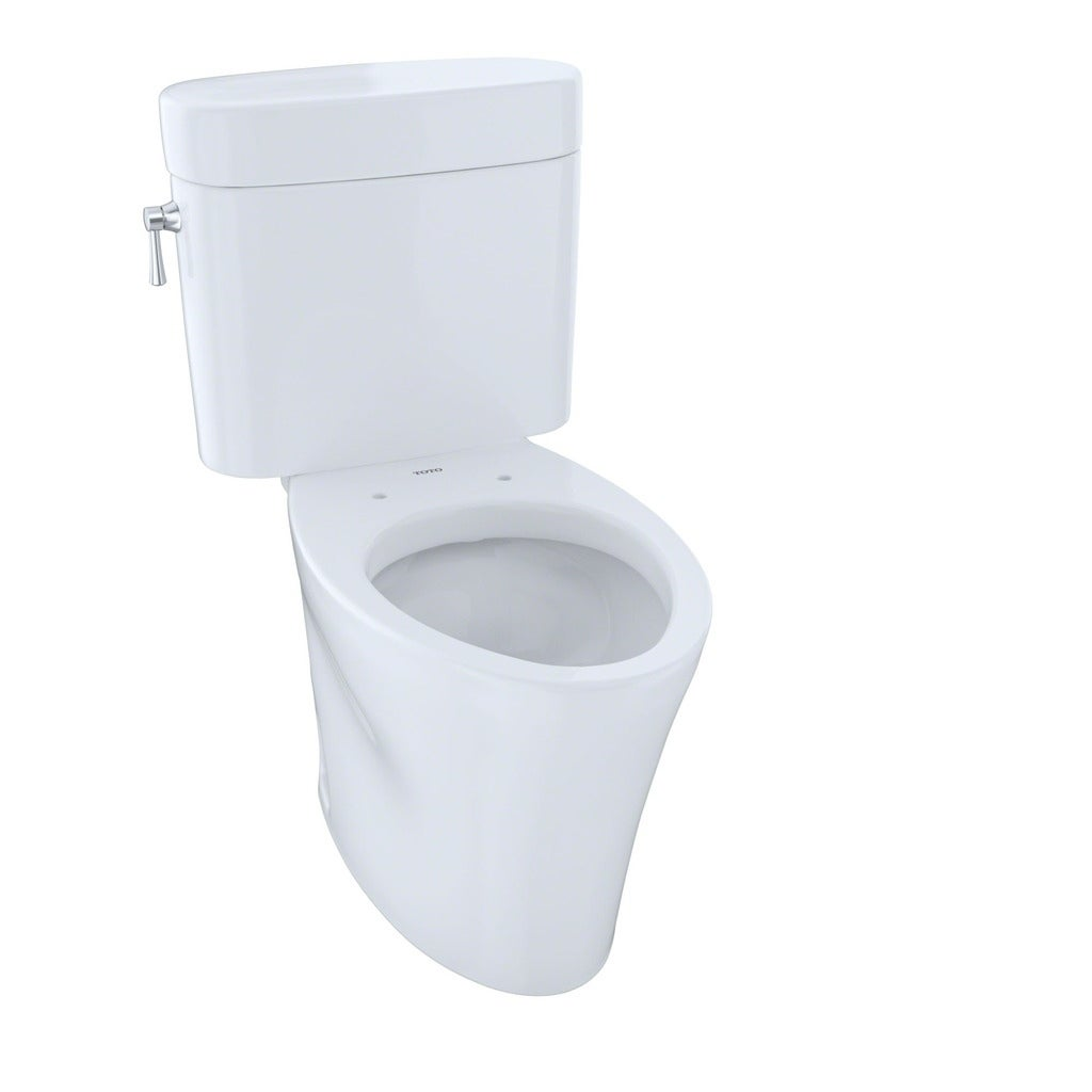 Toto Eco Nexus Two-Piece Elongated 1.28 GPF Universal Height Skirted ...