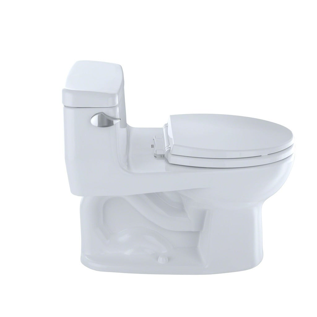 Shop Toto Eco Supreme One Piece Round Bowl 128 Gpf Toilet Ms863113e