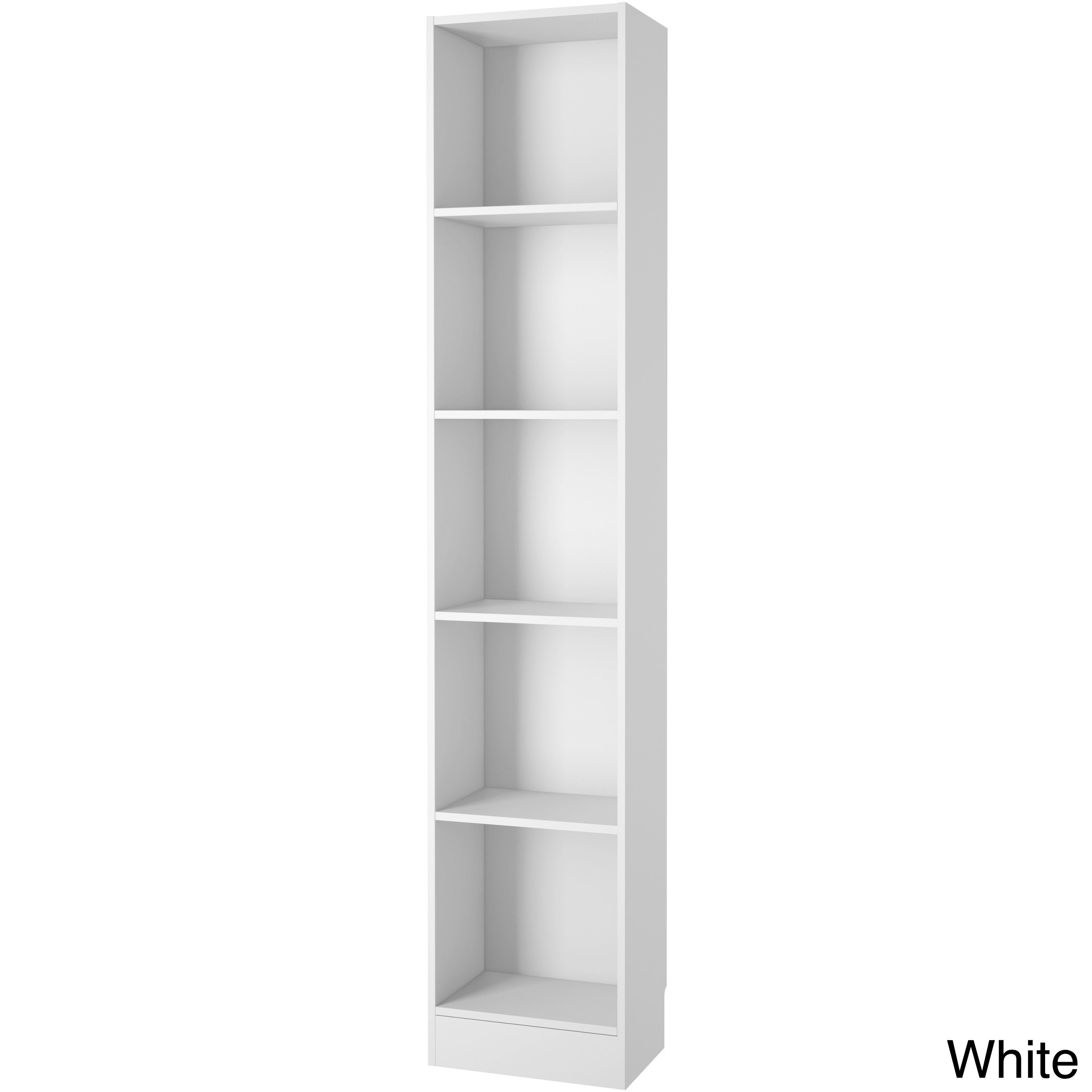 Element Tall Narrow 5 Shelf Bookcase Free Shipping Today 17148536