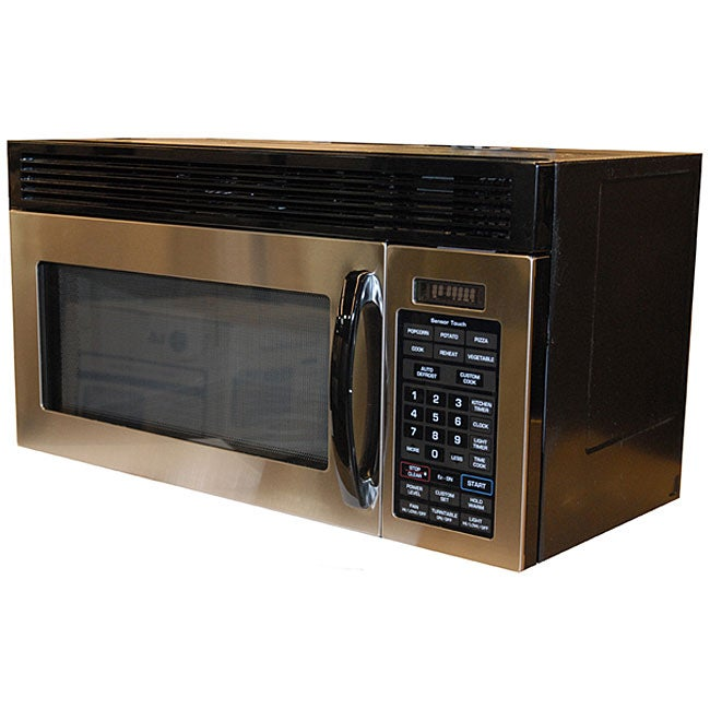 Lg Gold Star 1 6 Cubic Foot Over The Range Microwave Refurbished