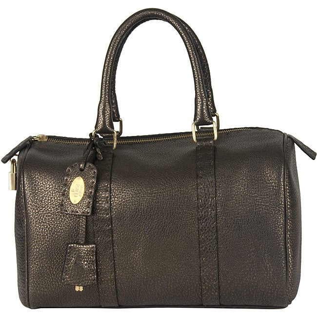 d399e42d9b Shop Fendi  Selleria  Boston Bag - Free Shipping Today - Overstock.com -  3987009