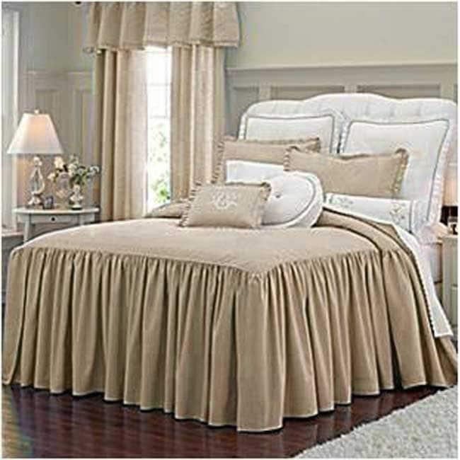 Ilana Linen 3 Piece Bedspread Set