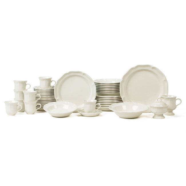 Shop Mikasa \'French Countryside\' 45-piece Dinnerware Set (Service ...