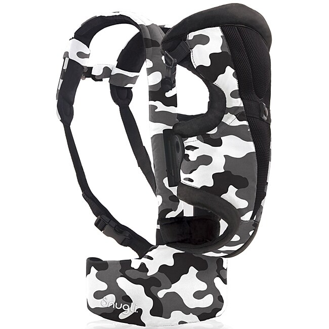 2140a7894b4 Shop Evenflo Snugli Front and Back Soft Carrier in Camouflage Black - Free  Shipping Today - Overstock - 6378096