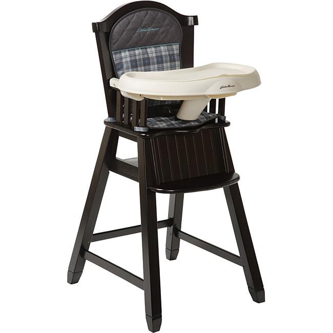Eddie Bauer Wood High Chair In Ridgewood