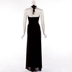 f0a5601e4a41 Shop Aspeed Women's Wrap Halter-style Formal Dress - Free Shipping ...