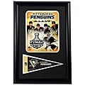 Pittsburgh 2009 Cup Framed Print with Mini Pennant