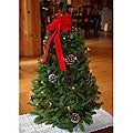 Fresh-cut Classic Pre-lit 28-inch Maine Balsam Tabletop Tree