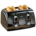 Sunbeam Black 4-slice Wide Slot Toaster