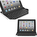 Deluxe Apple iPad 3rd Gen Aluminum Shell with Bluetooth Keyboard and Stand