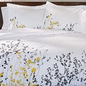 Superior Reed 3-piece Cotton Duvet Cover Set