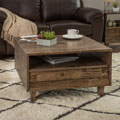 Venetian 2-way 2-drawer Brown/Grey Coffee Table