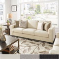 Torrington Linen Nailhead Track Arm Sofa by iNSPIRE Q Classic