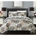 Chic Home 3-piece Kenny Boho Inspired Reversible Print Quilt Set