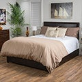 Hilton Bonded Leather Bed Set by Christopher Knight Home