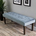Hazelton Home Dawson Bench In Fabric